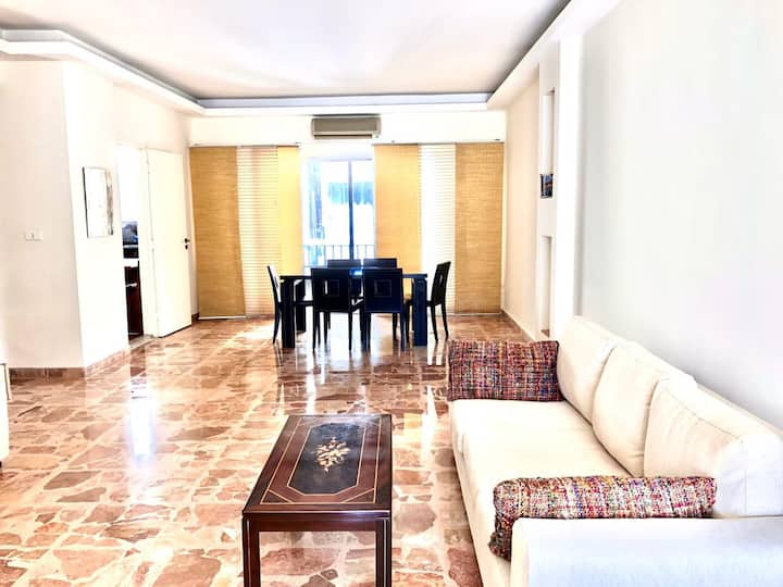 Spacious Apartment in Central Location Ashrafieh