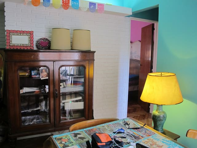 Cosy Apartment in Belgrano, BS.AS. - Buenos Aires - Daire