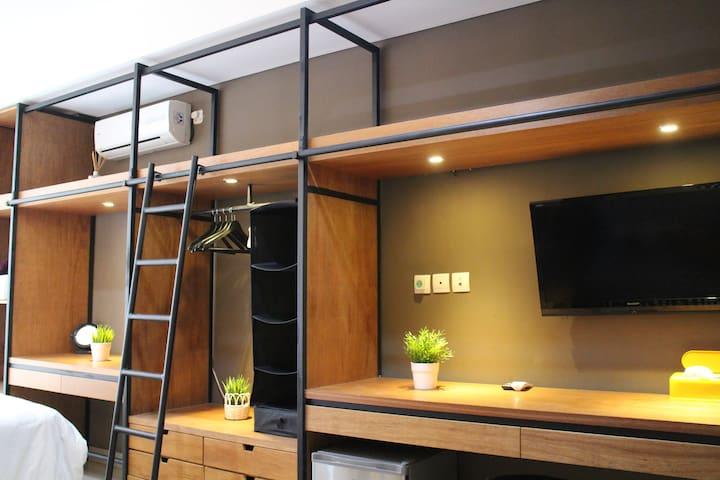 Best Studio Apartment in Dago Bandung