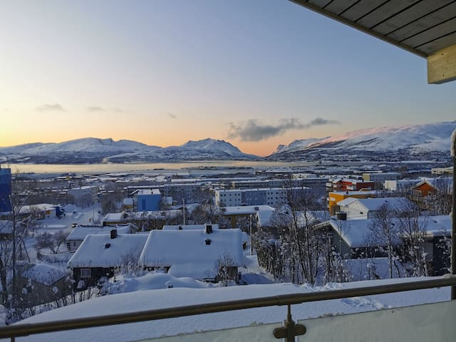 House with an amazing view in beautiful Tromsø.