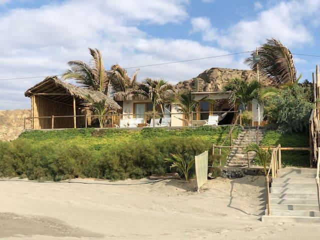 Casa en playa privada ☀ Organos ☀