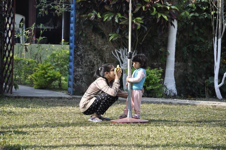 Kids Enjoying outdoor activities