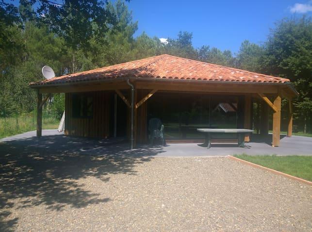 L'Estanguet, maison octogonale en forêt - Boos - Talo