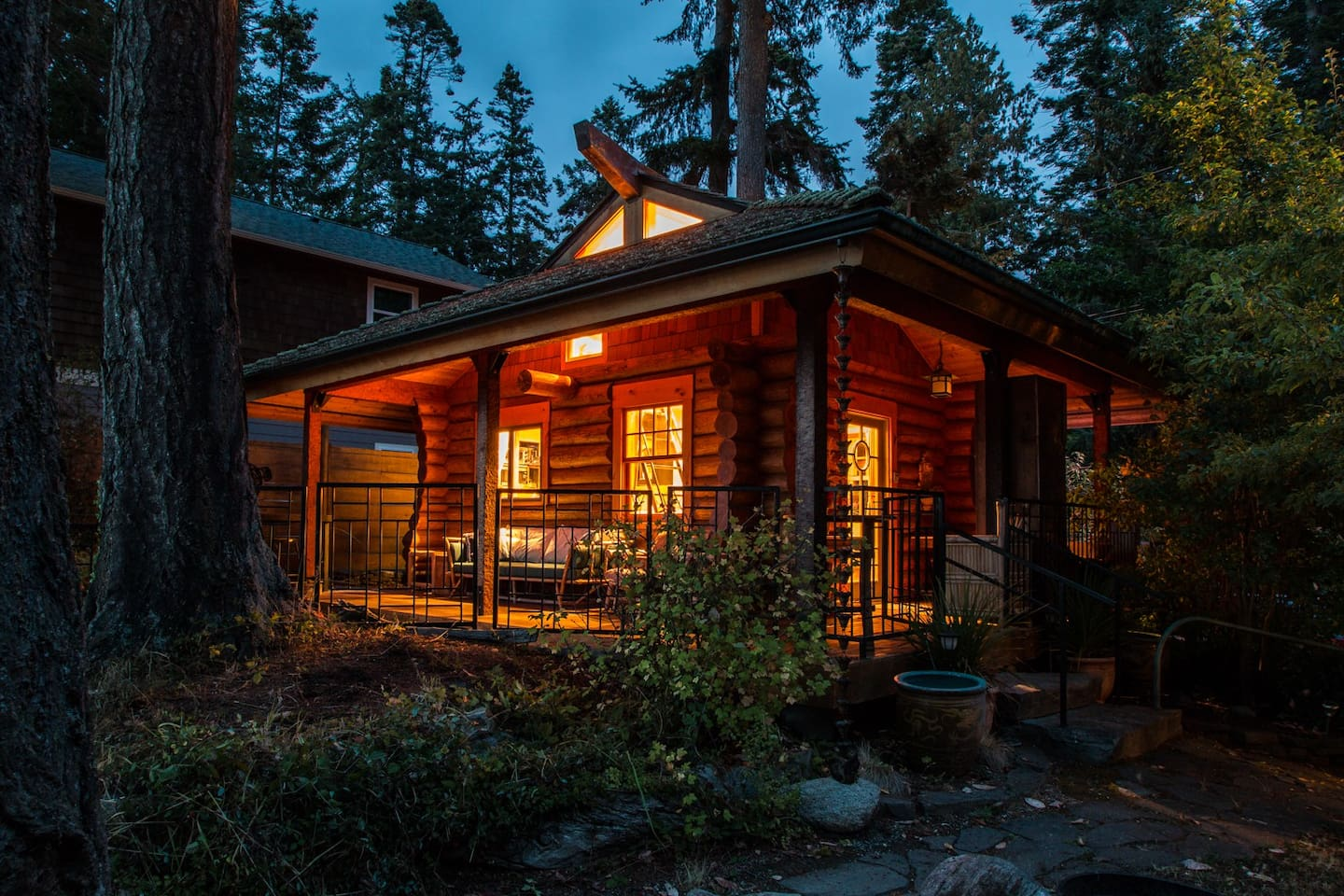 The Coho Cabin- designed by Bo Miller and Mary Jayne Wiles.
