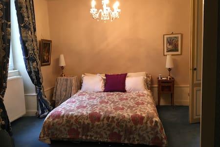 Chambre confortable dans un parc magnifique - Saint-Loup-Géanges - Castle