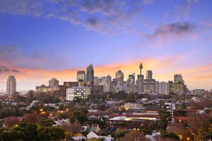 Incredible view of the city