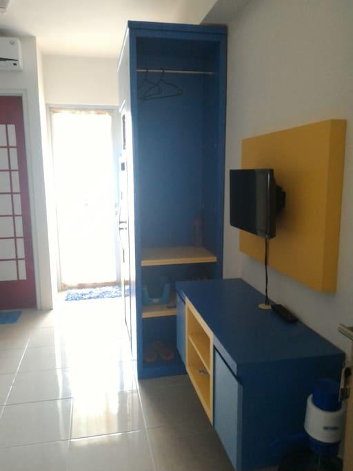 inside the unit