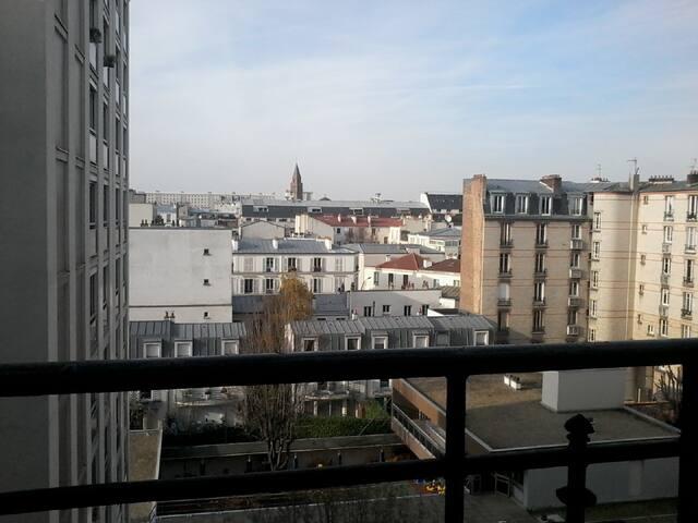 Lever du jour à Vincennes - Vincennes - Apartment