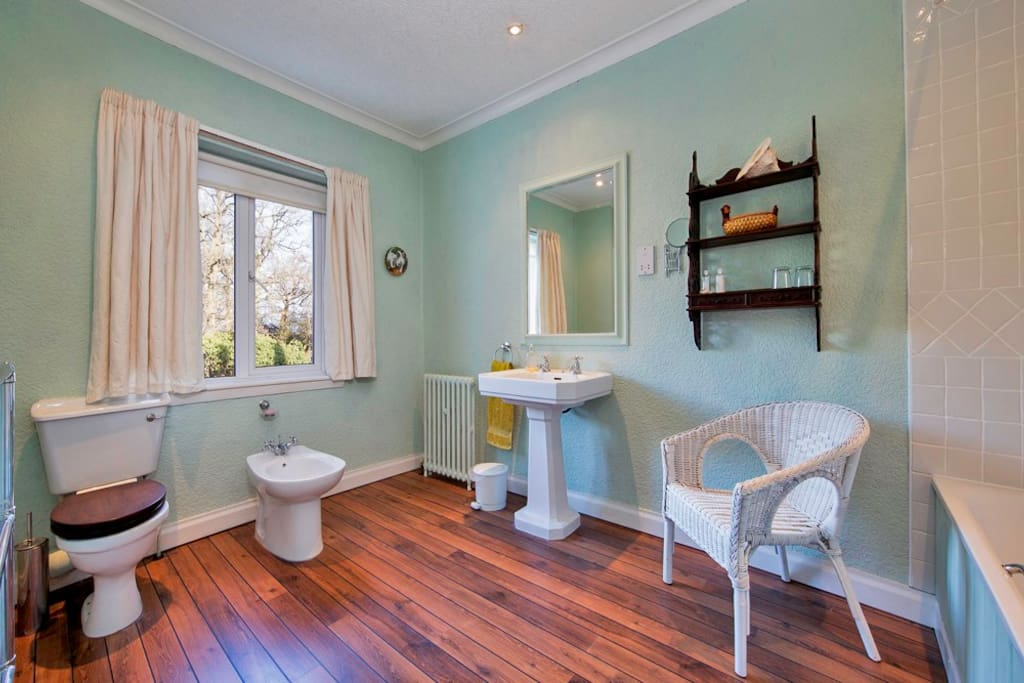 En-suite, with a choice of bath and shower facilities.