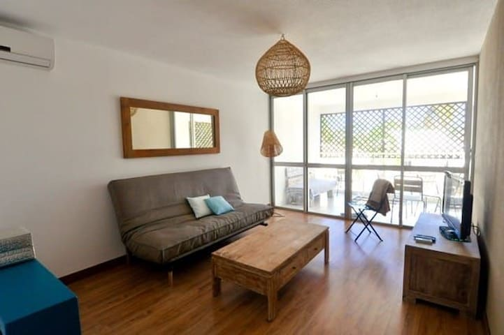 Appartement cosy au cœur de Saint Gilles Les Bains
