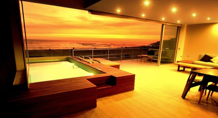 Hermoso duplex frente al mar !!!!!!