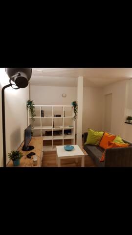 Nice studio in Zurich (Stettbach trainstation)