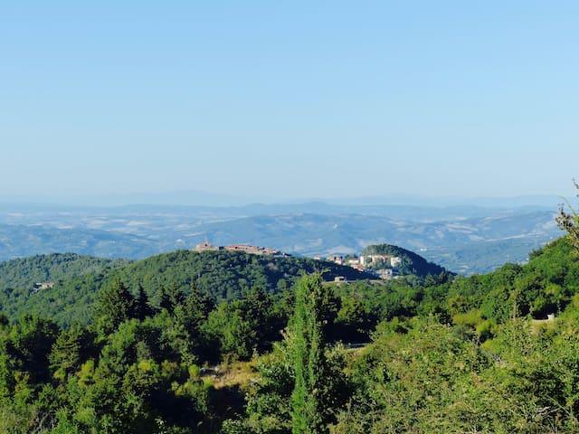 Kleines Juwel inmitten der Natur in der Toskana - Monticello Amiata - Talo