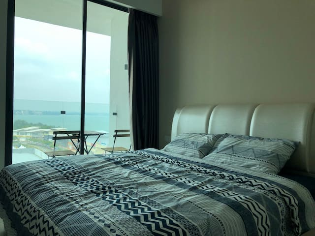 D'Wharf Port Dickson - Cozy Unit (Up to 3 pax)
