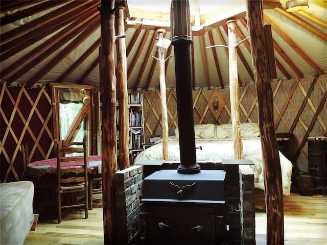 Green Mountain Magic Yurt