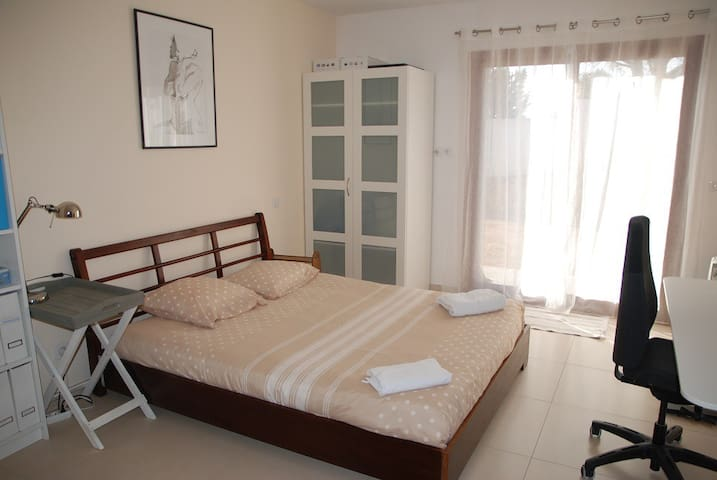 Appartment in a villa with swimmingpool