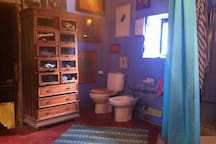 there is another bathroom in the farmhouse