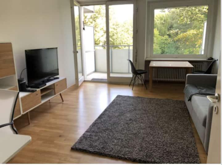 Elegant möbliertes 1 Zimmer Loft in Bogenhausen