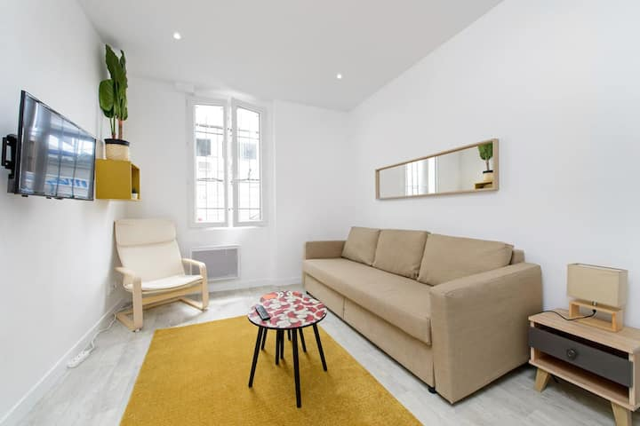 Cosy Studio/ Commercial Area Aubervilliers / Paris