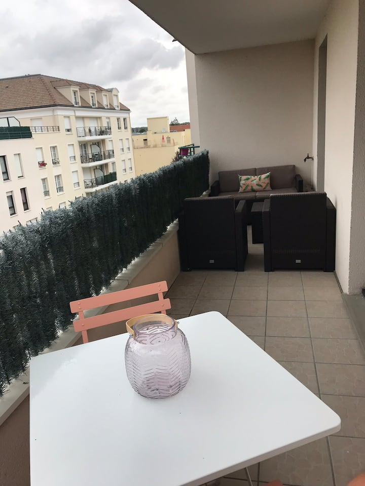 Charmant appartement proche de Paris