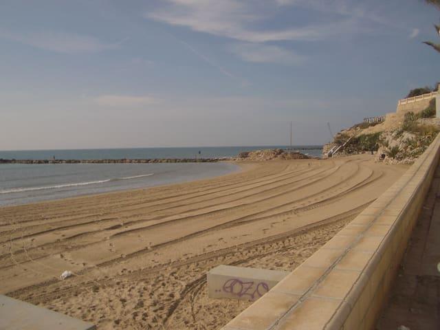 Primera linea de playa!! - Vilanova i la Geltrú - Appartement