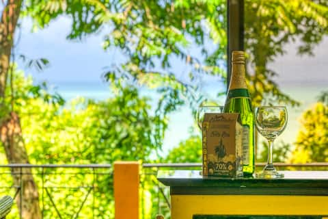 Privat villa - Ocean View  & Jungle - Hurtig WiFi