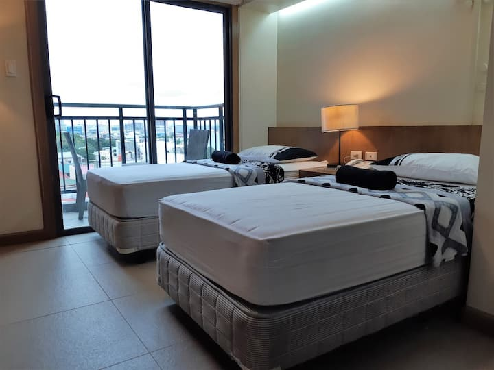Studio Unit 712 with Twin Beds in Cebu City