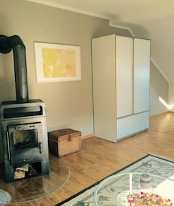 2 apartments with chimney for up to 10 guests - Ilmenau