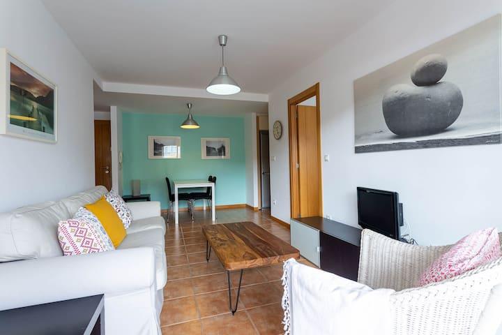 VISTAS PANORAMICAS RIA, PISCINA, PLAYA 50 metros