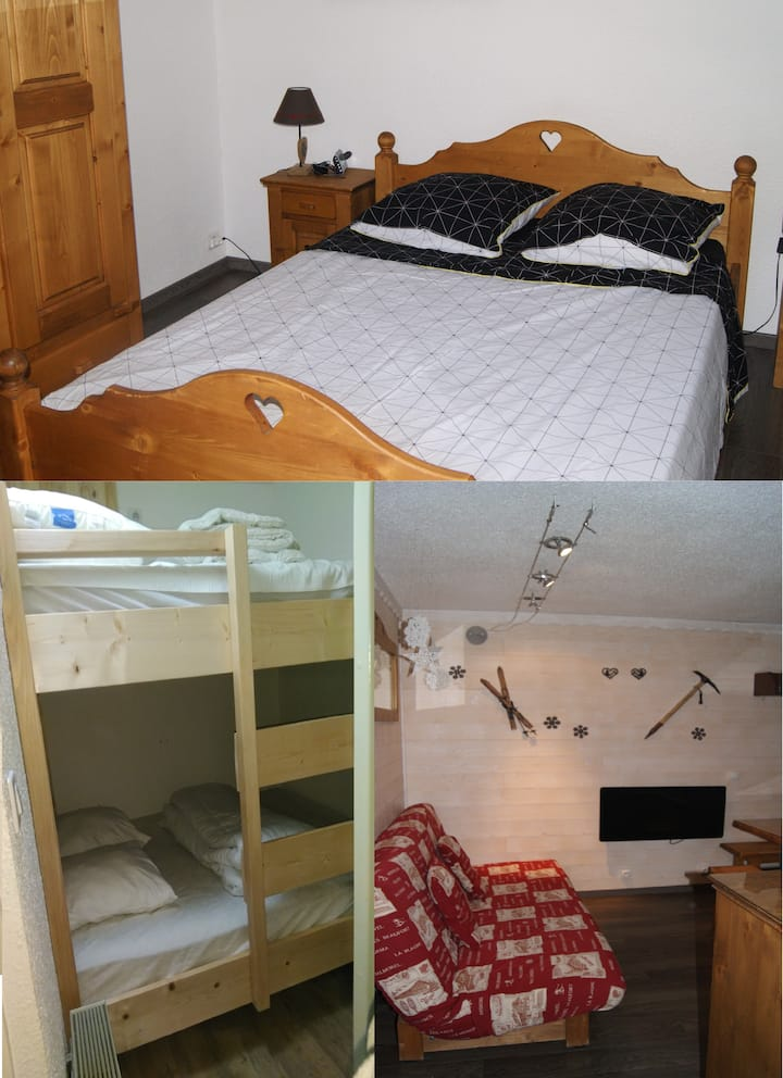 Appartement au Corbier juqu'à 8 places