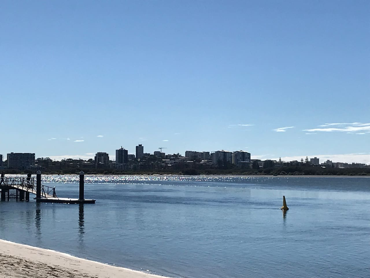 Walk to Caloundra along beach front walking track.  Jetty adjacent to Apartment Complex.