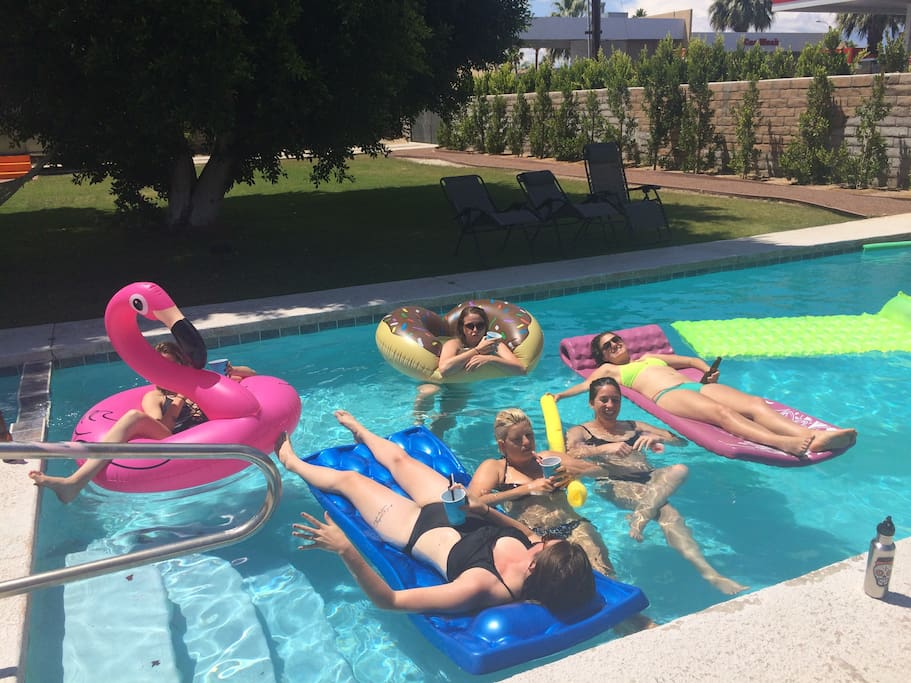 Bachelorette party cool down in May.