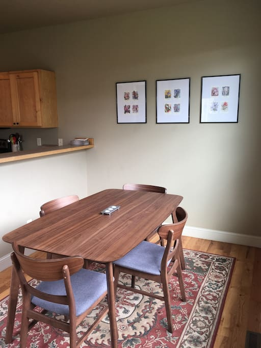 Dining room (Please request extra chairs if needed)