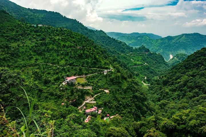 Situated in a Mystical valley near Dehradun