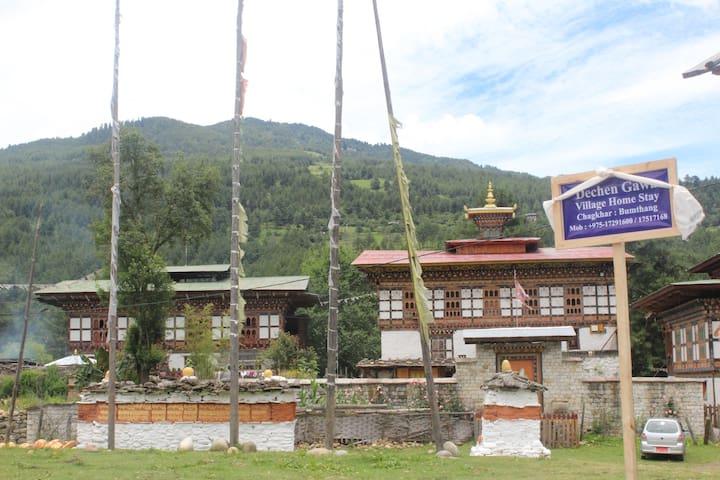 Dechen Gawa village homestay