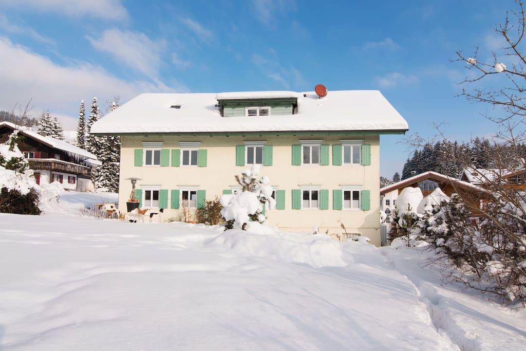 Landhaus Thanner im Winter