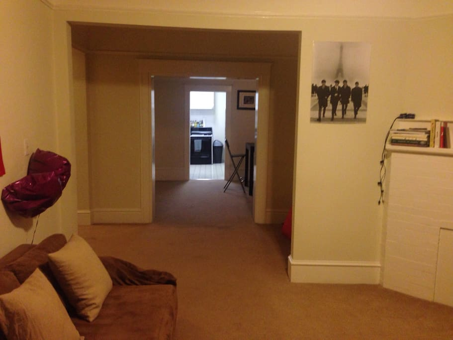 Hallway from Living Room to Dinning Room