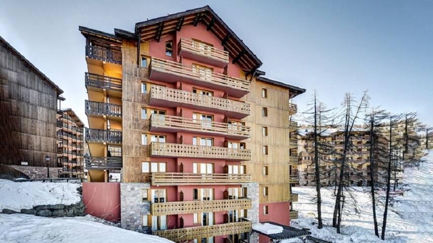 Studio Confortable Près de Risoul 300m des Pistes | Local à Skis