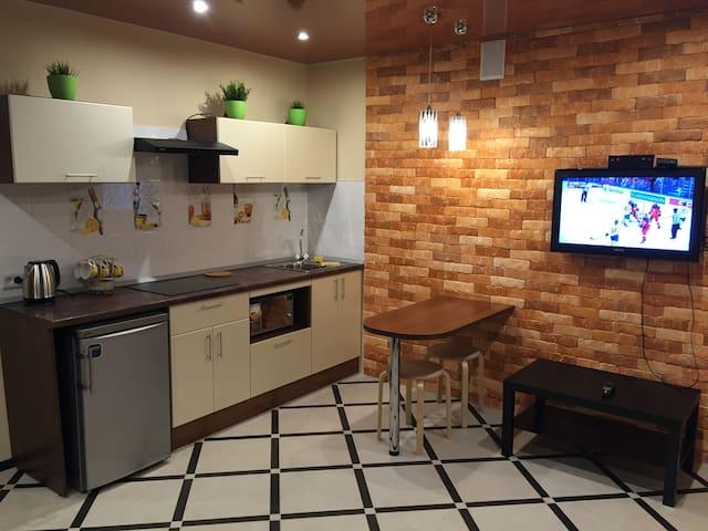 отличная дизайнерская квартира вам - Vologda - Lägenhet
