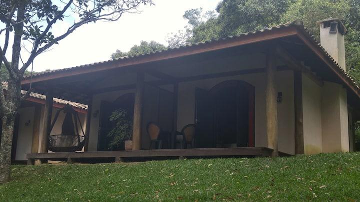 Chalé do Bosque 1-Solar do Vinhedo, São Roque-SP