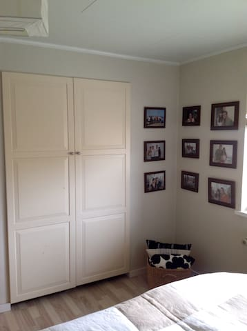 Bedroom closet. Fell free to use it for your clothes