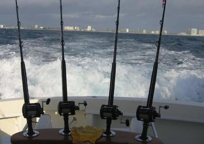 Deep Sea Fishing (ask me for recomendations