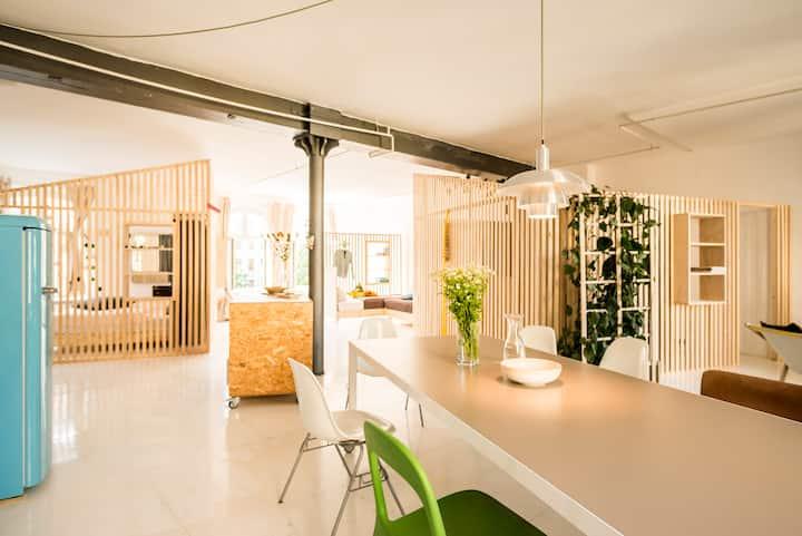 Sunny studio in Kreuzberg