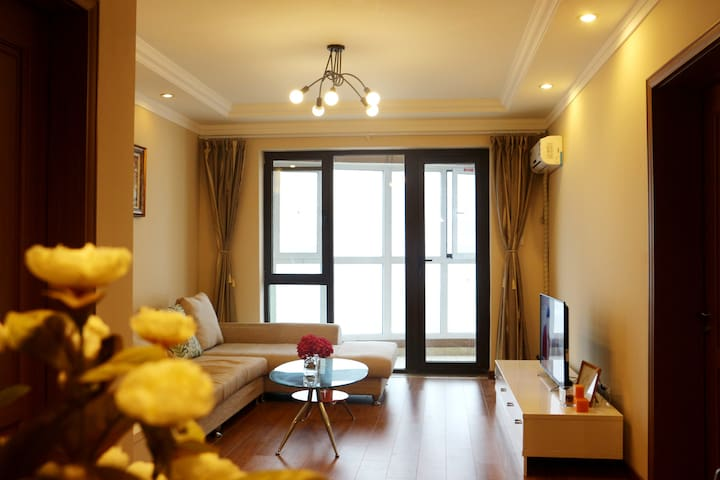 Near Golden Beach Seaview Apartment with Two Bed R - Qingdao - Appartement