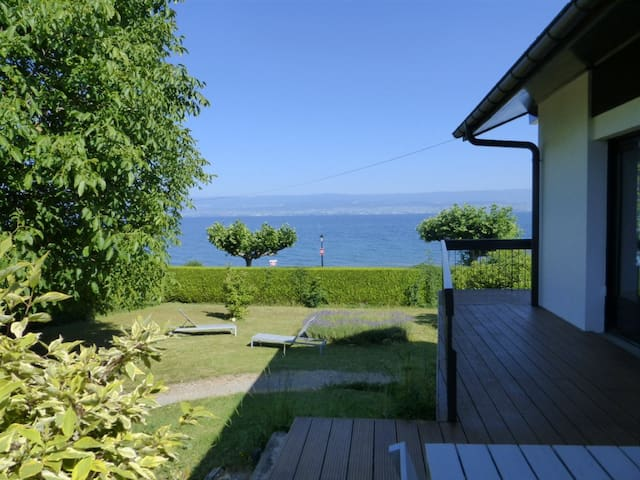 Beautiful Lake House Plage Corzent - Anthy-sur-Léman - House