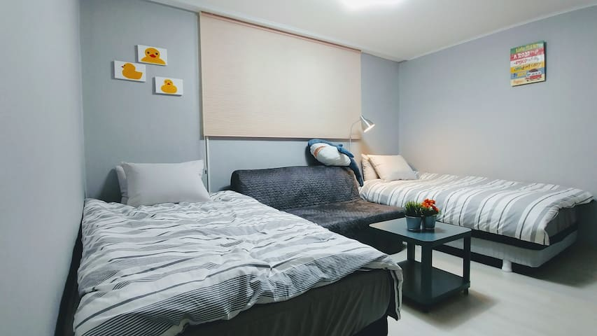 NEW!! Perfect Location to Jamsil&Lotte World/2room