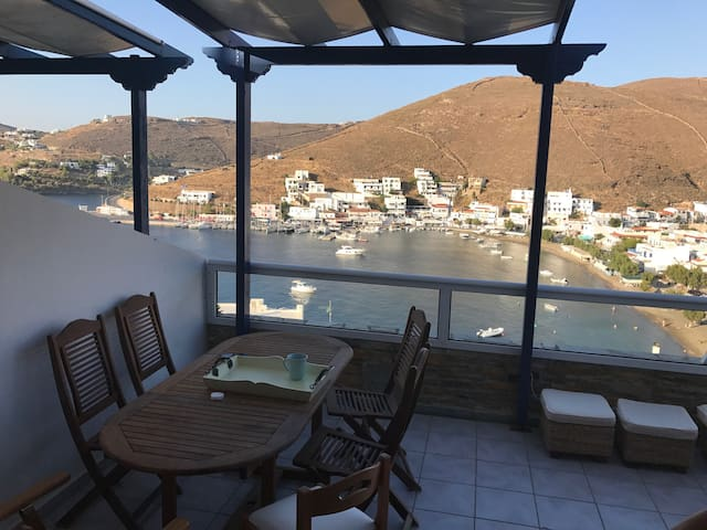Lovely house 85m² with amazing view in Merichas.