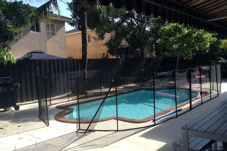 Spacious Miami home, private pool - released dates