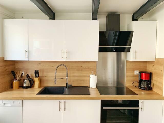 1-Appartement coquet et équipé