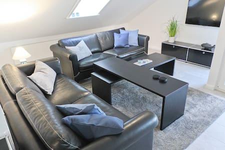 Strandnahe, moderne Ferienwohnung (90 m²) für 4 P. - Glücksburg (Ostsee) - Daire